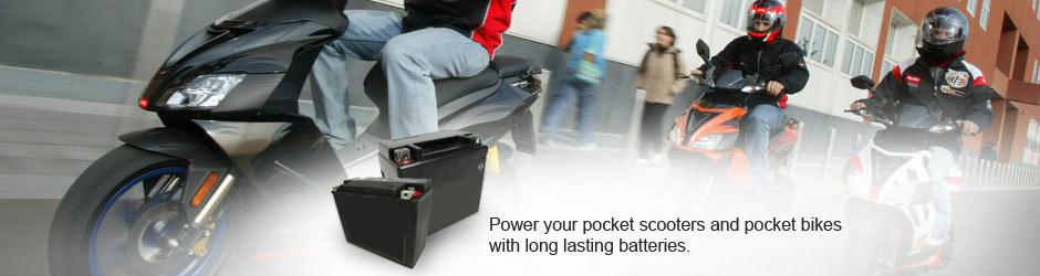 Aki untuk Motor/Scooter