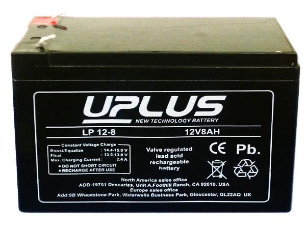 Uplus LP-12V-8AH untuk UPS